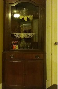 Antique Corner Curio