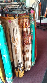 Silk Pants from India